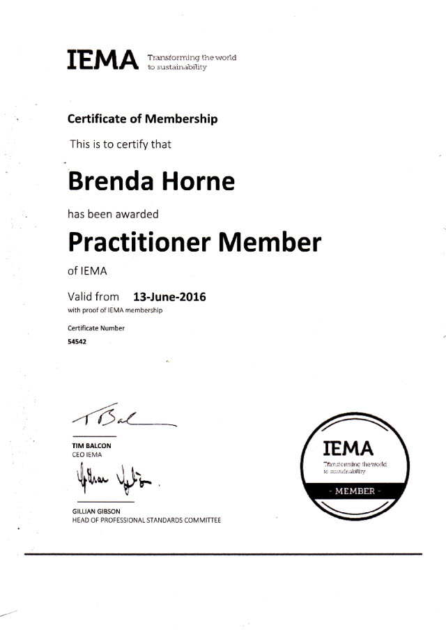 Direct Waste Management Ltd Peterhead North East Scotland Our Certification IMEA Certificate