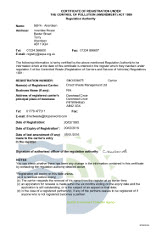 Direct Waste Management Ltd Peterhead North East Scotland Our Certification Waste Carriers Certificate